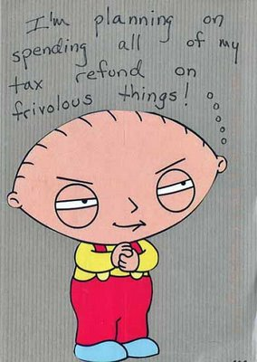 Stewie is Frivolous